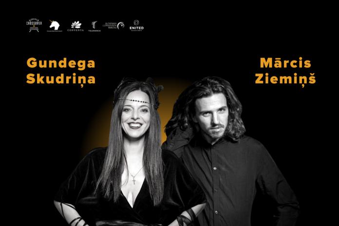 gundega-skudrina-marcis-ziemins-crossover-speakers-presentation-event